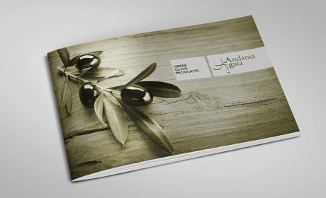 Andania Gaia橄榄油品牌画册设计欣赏