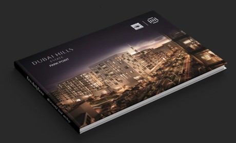 DUBAI HILLS地产宣传画册设计