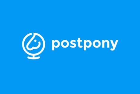 折扣平台品牌形象设计Postpony邮差小马快递折扣平台