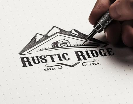 刀具品牌视觉形象设计RUSTIC RIDGE五金