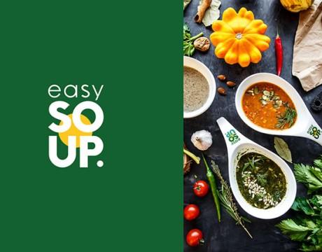 餐饮品牌视觉识别设计流程(EASY SOUP健康快餐连锁店)