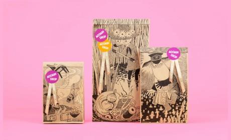 手绘插画风格包装设计的设计理念来自哪里
