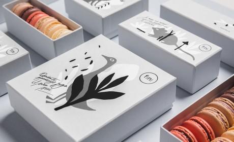 法国传统美味蛋糕包装设计
