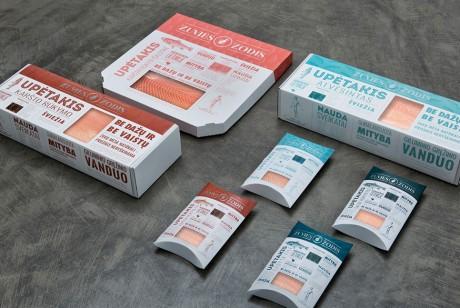 生鲜鱼片包装设计
