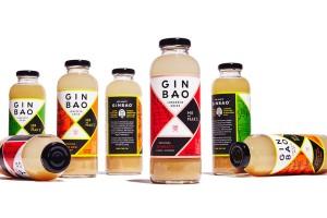 GINBAO饮品包装设计