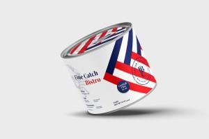 美国蓝螃蟹食品包装设计