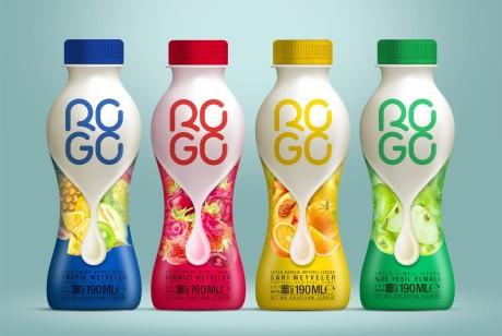 ROGO果汁牛奶包装设计