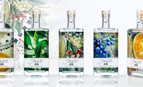 Janus Gin杜松子酒包装设计