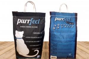 猫砂包装设计Purrfect品牌猫砂