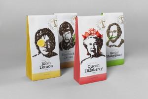 茶叶包装设计英国Celebri茶品牌