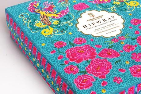 传统工艺的Peranakan Hipwrap围裙包装设计