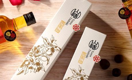 山椿苦茶油包装设计