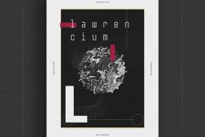 构思广告海报设计技巧与办法-金属主题概念海报设计