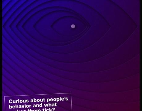 构思广告海报设计办法简析-SAATCHI系列几何视觉海报设计欣赏