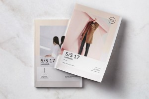 时尚服装行业的画册模版设计需求把握哪些设计技巧?