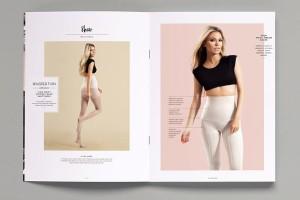 护腿丝袜画册设计欣赏,BLANQI时尚品牌设计