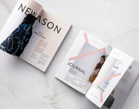 国外时尚服装品牌画册设计欣赏