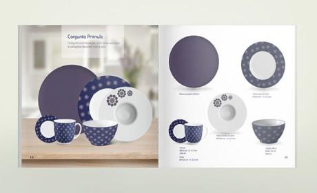 国外餐具品牌产品画册设计欣赏