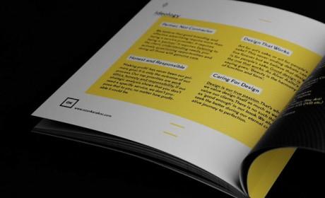 设计公司自身的画册设计欣赏
