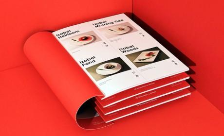 菜单设计欣赏国外Strawberry Street品牌美食目录设计