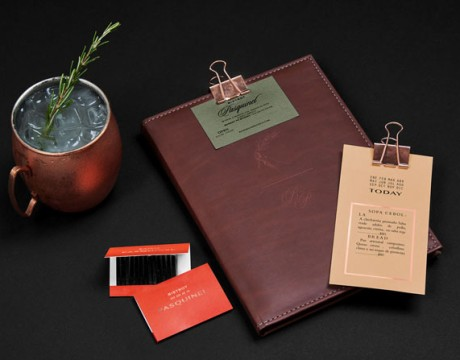 餐厅视觉形象设计Bistrot Pasquinel品牌VI设计欣赏