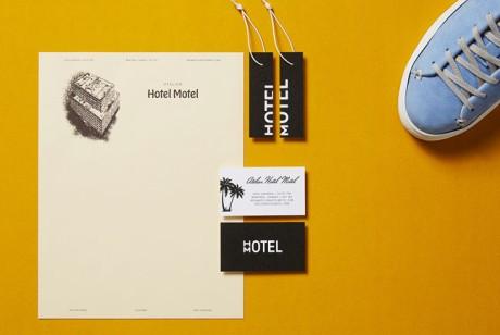 高端运动鞋品牌VI设计Hotel Motel形象设计欣赏