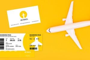 航空公司VI案例,巴西Air Brazil航空品牌形象设计欣赏