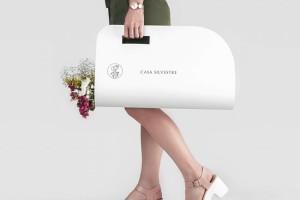 浪漫的花店VI设计,Casa Silvestre品牌形象设计欣赏
