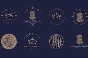 咖啡馆VI形象设计欣赏(Luccari品牌)
