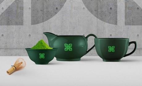 绿茶VI设计Matchaki抹茶品牌形象案例欣赏