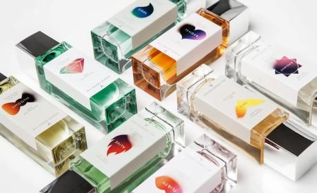 香水品牌店和包装设计理念