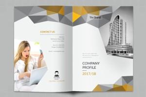 一本国外的企业宣传画册设计欣赏