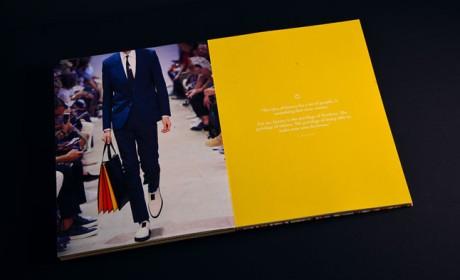 时装品牌宣传册设计中的几个问题