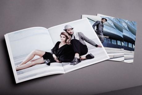 深圳男鞋画册设计中的文字该怎样排版?