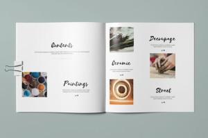 Botak艺术画册设计欣赏