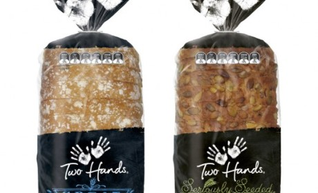 "国外""Two Hands""品牌面包包装设计"
