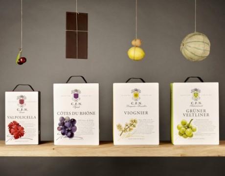 Arcus品牌葡萄酒包装设计欣赏
