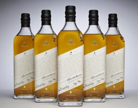 英国白葡萄酒Johnnie Walker Directors Blend包装设计欣赏