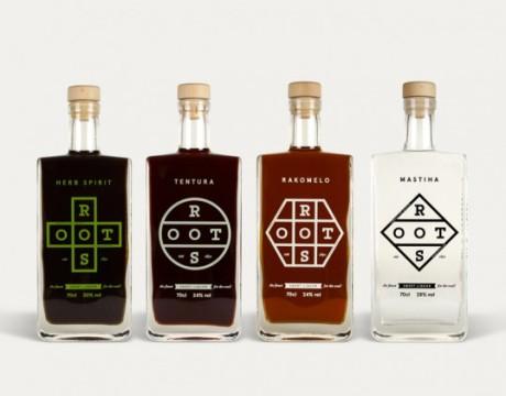 ROOTS品牌酒包装设计欣赏