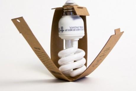环保节能灯泡包装设计欣赏