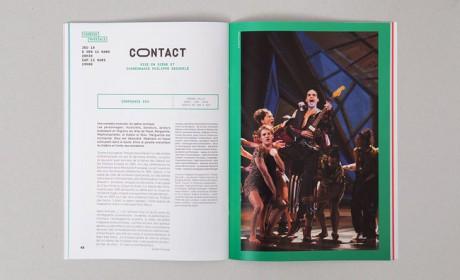 Salins剧院新赛季宣传画册与海报设计欣赏