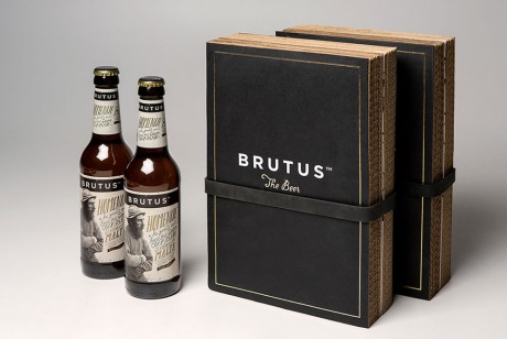 一款特别的啤酒礼品包装设计欣赏