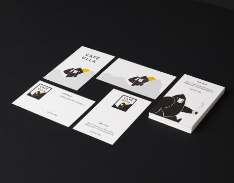 CAFÉ ULLA咖啡品牌形象设计