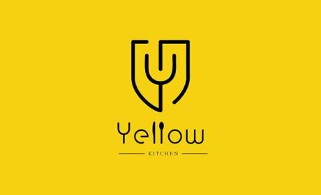 Yellow Kitchen餐厅品牌形象VI设计