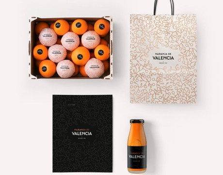 橙子品牌Valencia品牌形象VI设计与包装设计