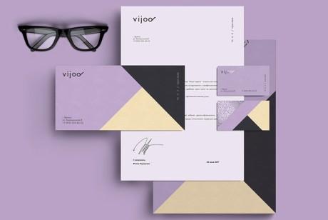 眼镜品牌形象设计Vijoo品牌升级