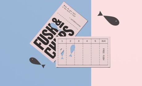 Fush & Chups品牌VI快食简餐视觉形象设计