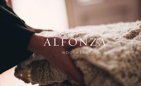 羊毛衫服装品牌Alfonza形象VI设计
