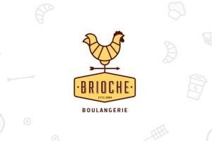 Brioche面包品牌VI形象设计