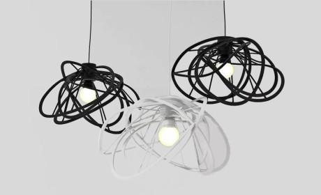 七款极具艺术气息的吊灯设计